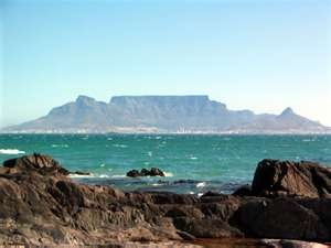 table mountain - she provides shade in summer and shelter in winter, she's a Godsent