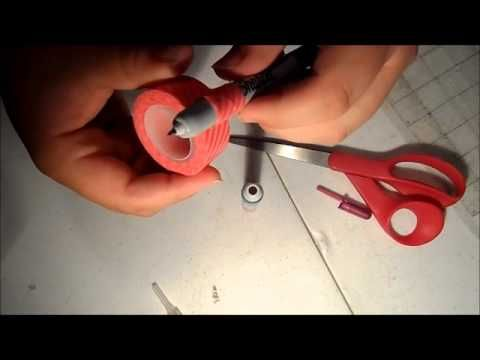 Handmade Pen Holder for your Cameo - YouTube