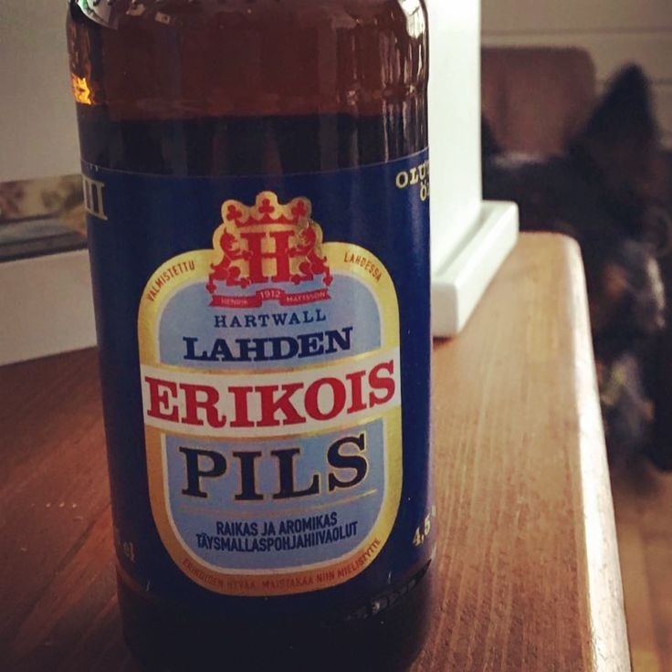 Beer from Lahti Finland