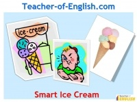 KS3 English Teaching Resources: Smart Ice Cream by Paul Jennings (PowerPoint presentation lessons with worksheets)   Smart Ice Cream is a KS3 English teaching resource featuring a series of enjoyable lessons designed to enhance and develop pupil understanding of the structure and features of short stories.