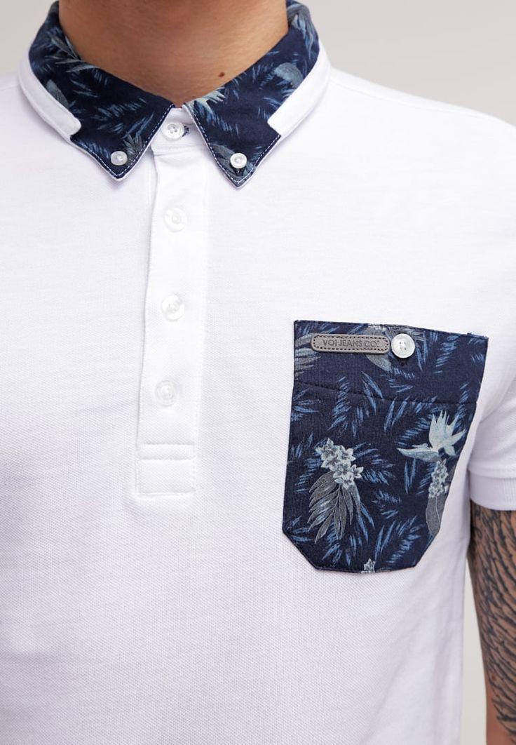 Voi Jeans KANSAS - Polo shirt - white - Zalando.co.uk