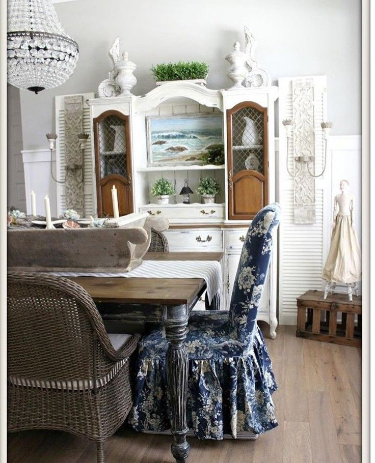 Beautiful Farmhouse Dining Room Styled By