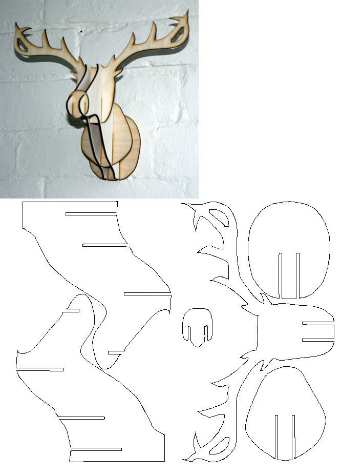 rendier 3d patroon:
