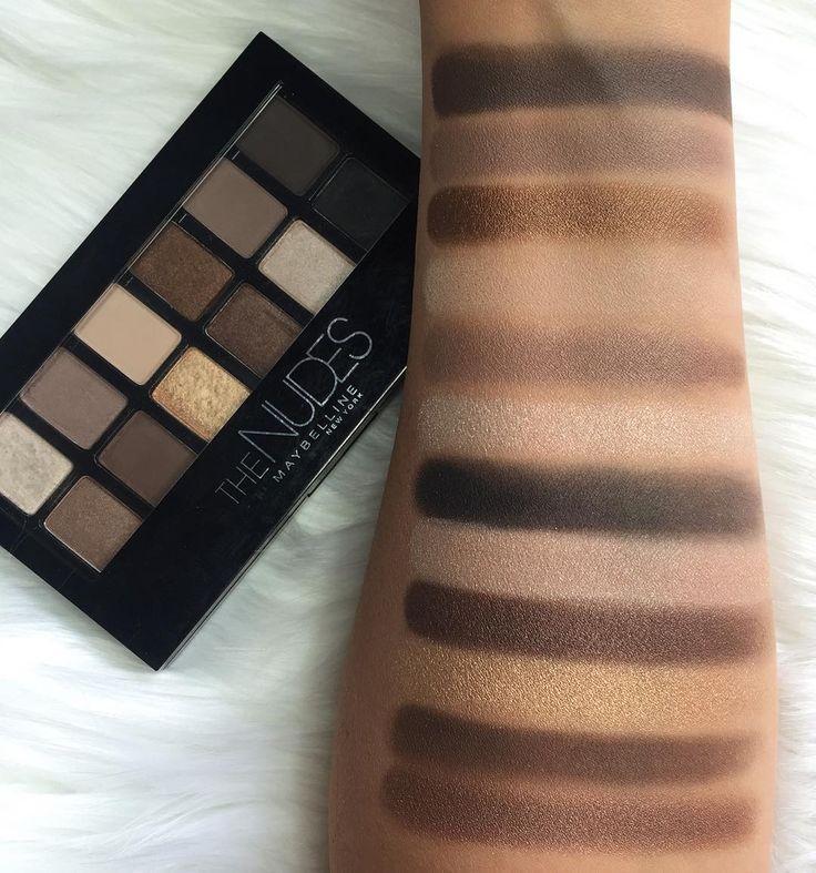Maybelline The Nudes Eyeshadow Palette  Voted best drugstore eyeshadow palette #GlamourMagazine #2016 #BeautyAwards available at #allcosmeticswholesale Only $8.99!! #acw