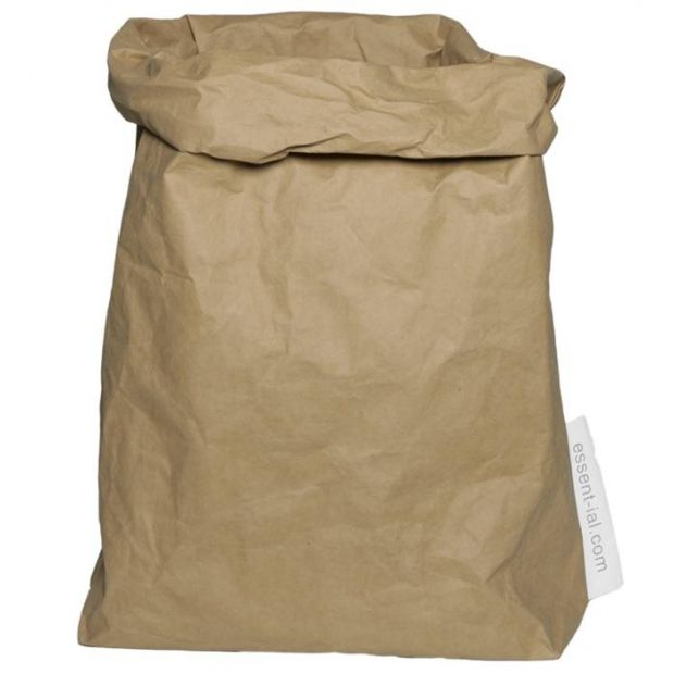 Great storage idea for kids bedrooms and playrooms - Essent'ial 'Paper Bag' storage bag #KidsRoomStyle