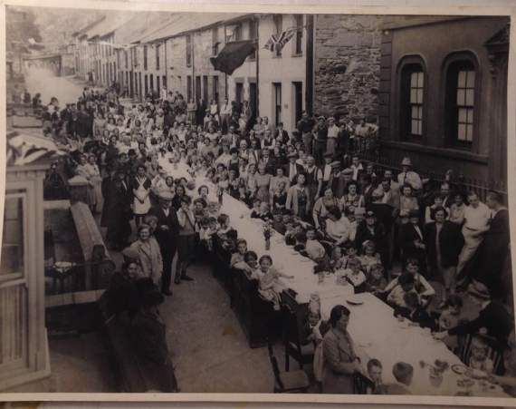 CAMBRIAN News reader Paul Humphreys has sent us this fascinating photo of a Blaenau Ffestiniog street party.