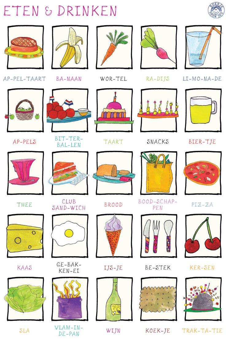 poster eten & drinken