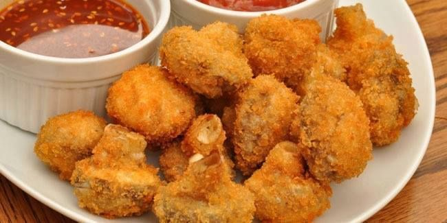 Jamur Crispy Goreng Tepung ~ Resep Uenak