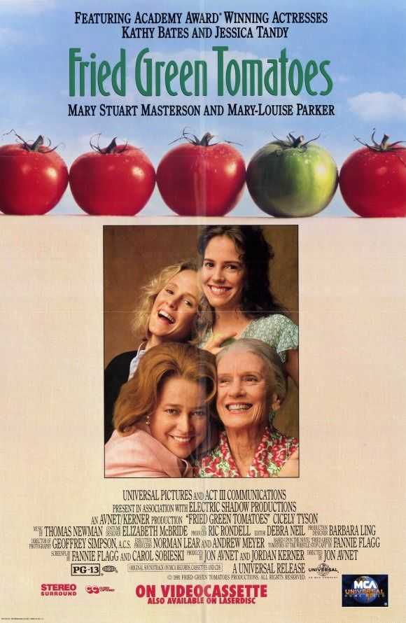 Based on Fried Green Tomatoes at the Whistle Stop Cafe by Fannie Flagg