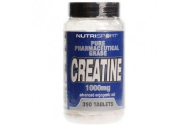 Nutrisport Creatine 1000mg 350 tabs + Free Sample Price: WAS £18.95 NOW £15.99