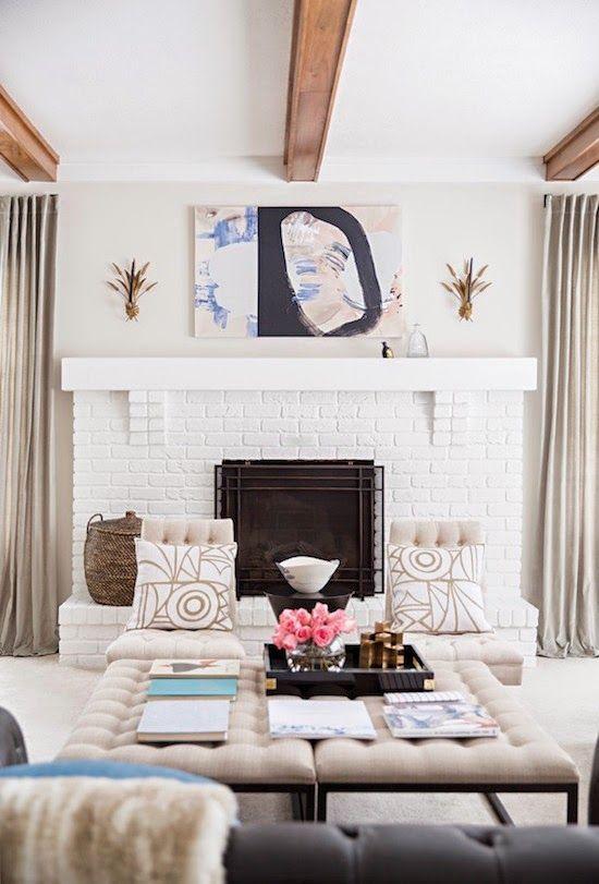 a stylish living room set up!