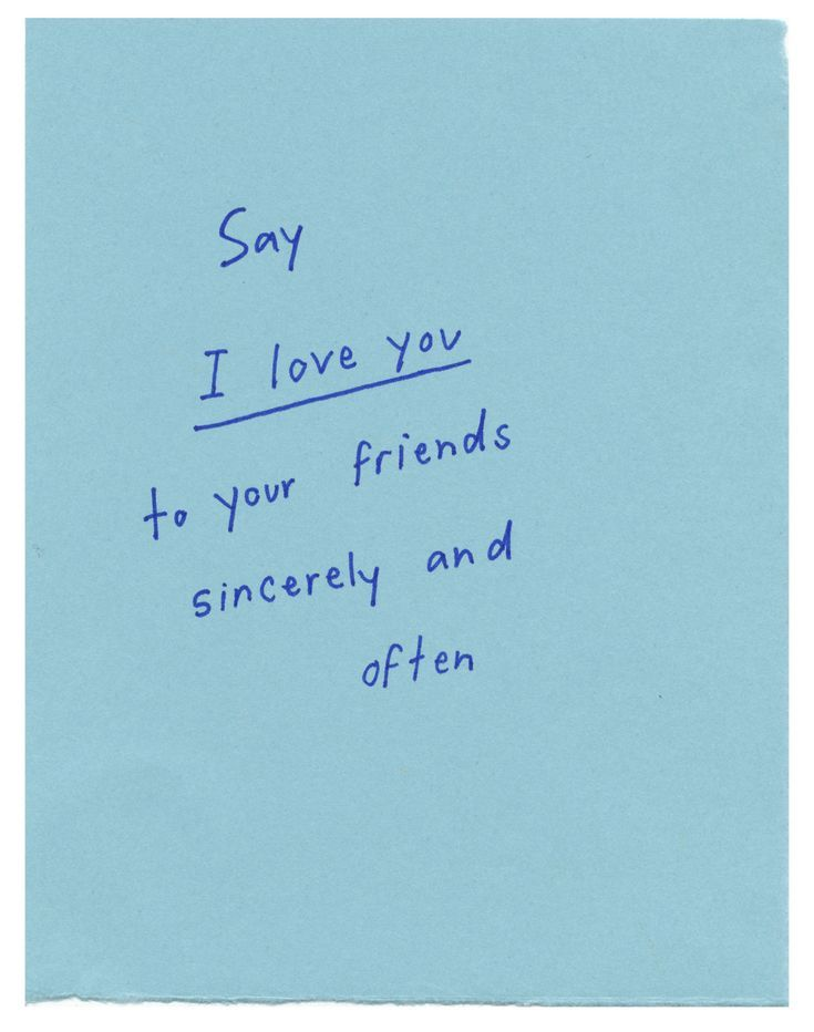 I Love You Friend Quotes