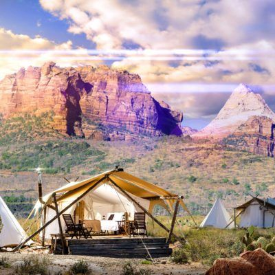 deluxe glamping in zion national park