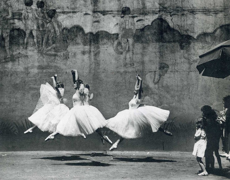 Ballet, New York City, 1938  by André Kertész