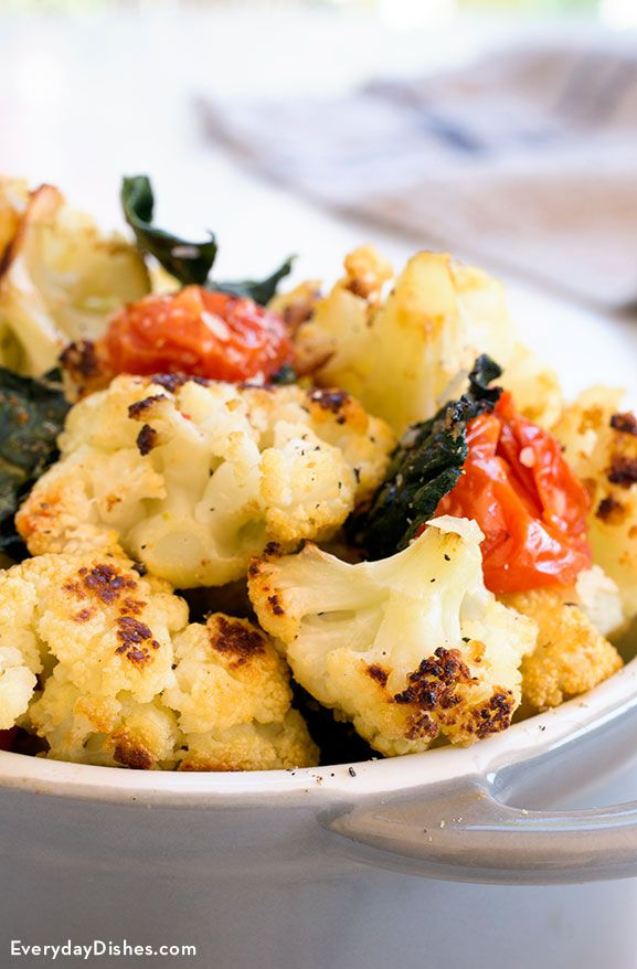 Eating healthy can be really delicious. We've cracked the code on a healthy veggie combination with a quick roasted cauliflower and kale recipe!