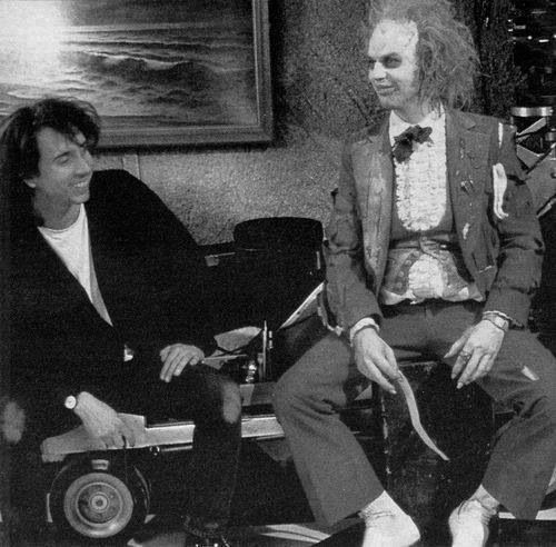 Image result for beetlejuice movie behind the scenes photos