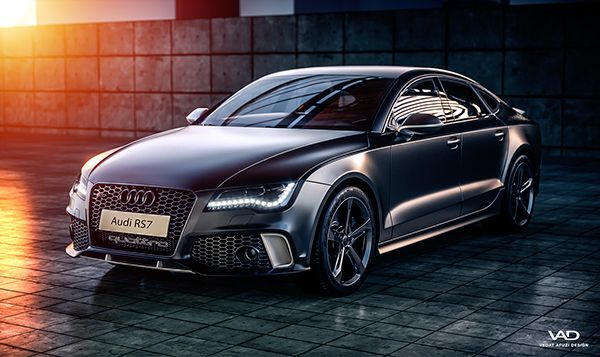 Audi RS7 on Behance