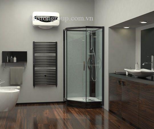 Bình nóng lạnh Ariston với phòng tắm có diện tích nhỏ