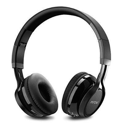 Casque Bluetooth Stéréo MPOW Thor, Casque Sans Fil Pliable avec Micro, suppression du bruit, compatible avec iPhone 7 6S, SE, et d'autres appareils bluetooth