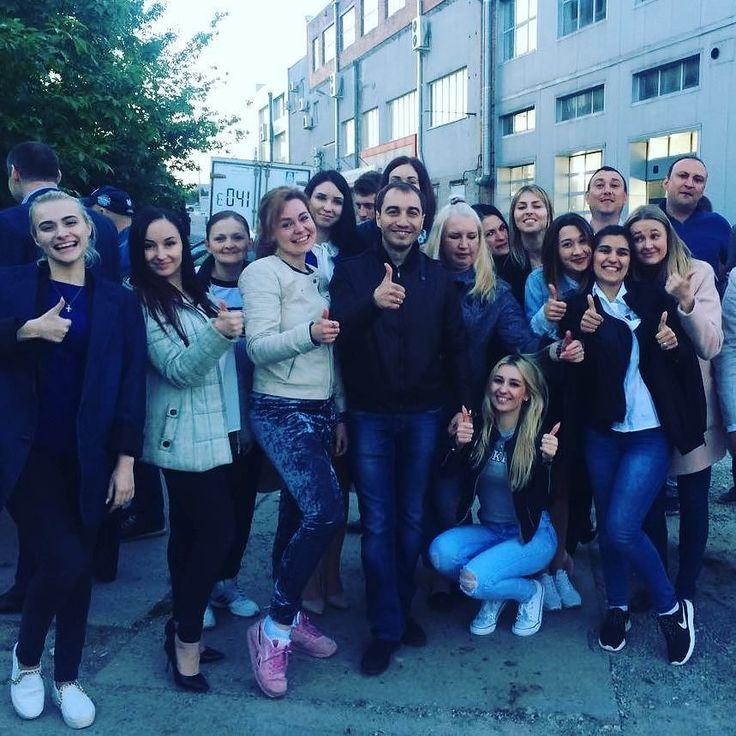 Наш любимый справедливый мудрый и позитивный руководитель! Николай Христофорович удачи во всех начинаниях!  Будем скучать! #автолига #форд