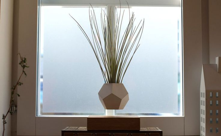 These Floating Pots Let Your House Plants Levitate and Spin