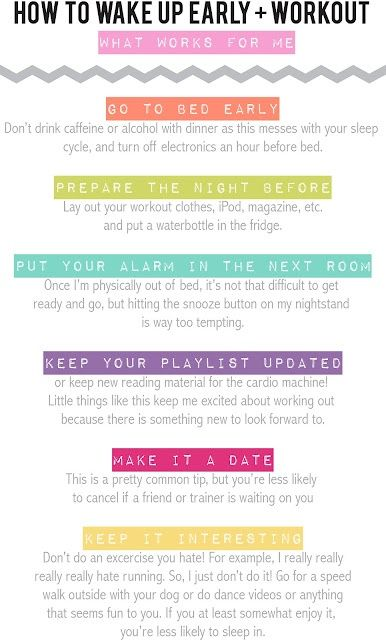 How to make your AM workout!!!