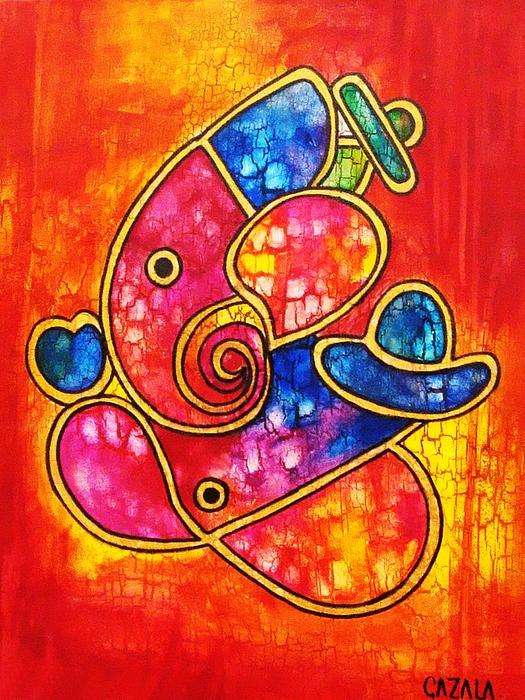 Lord Ganesha-Coral