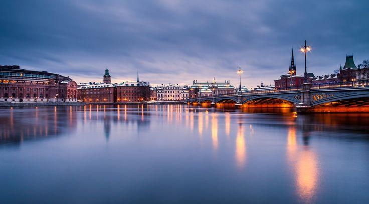 Vasabron Stockholm by Martin Sarikov on 500px