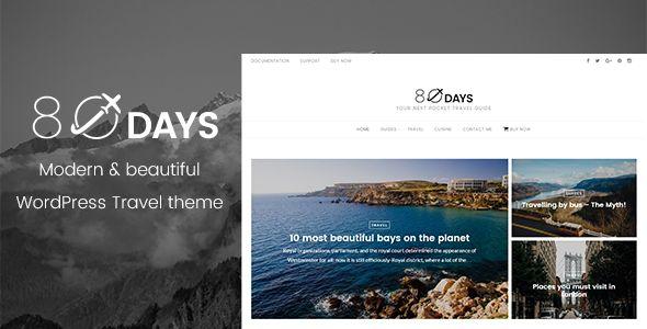 EightyDays - WordPress Travel Theme. Full view: https://themeforest.net/item/eightydays-a-wordpress-travel-theme-for-travel-blogs/16702695?ref=thanhdesign