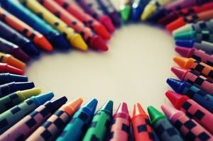 Crayons by alyson