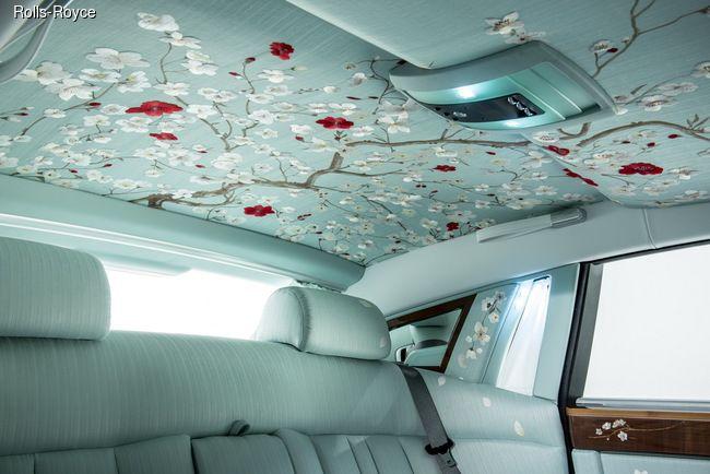 В 2015 году на Женевском международном автосалоне компания Rolls-Royce представила роскошный седан Phantom в эксклюзивном исполнении Serenity (англ. безмятежность).