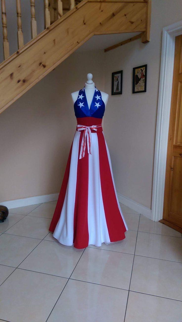 Bebago dress happy 4th of July 🇺🇸💥 https://www.etsy.com/ie/shop/BeBaGo?ref=seller-platform-mcnav