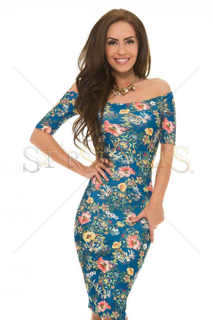 StarShinerS Fatale DarkBlue Dress