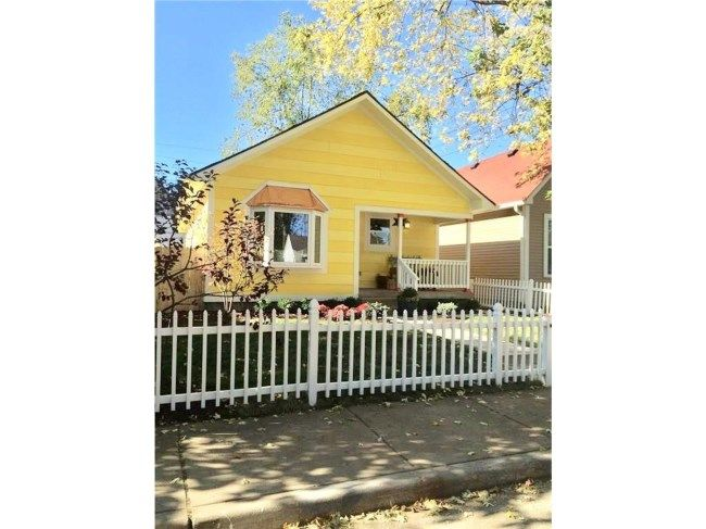 @RealtyAmanda - 945 Elm Street, Indianapolis HGTV Good Bones home for sale. Call, text, or message me for more information. Two Chicks and a Hammer construction and charm! Indianapolis Real Estate