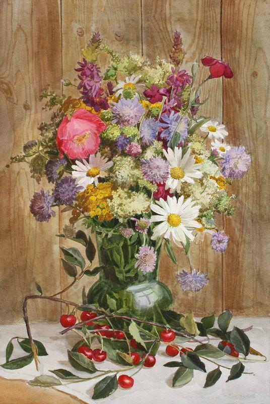 Букет полевых цветов, 2011