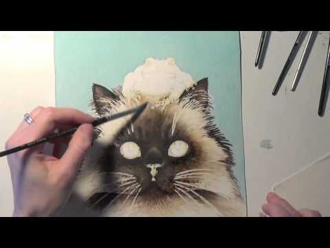 How to know when to stop - watercolor tips by Anna Mason - YouTube