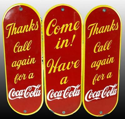 Rare vintage advertising door push signs. - 39 Best Screen Door Push Bars Images On Pinterest Screen Doors