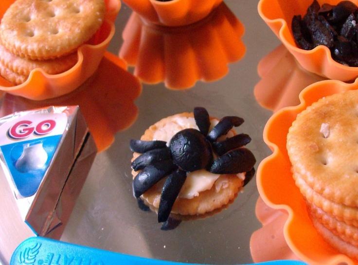Creepy, crawly cracker snacks!