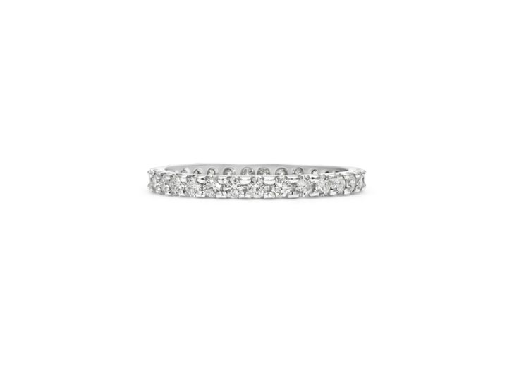 Cushla Whiting - EMILY 1.8 diamond wedding band. #cushlawhitingrings #weddingbands