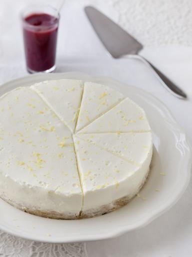 Cheese cake (sans cuisson) : Recette de Cheese cake (sans cuisson) - Marmiton
