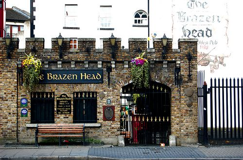 10 best pubs in Dublin - some off the beaten path. Of course the oldest makes the list, Brazen Head Pub Dublin