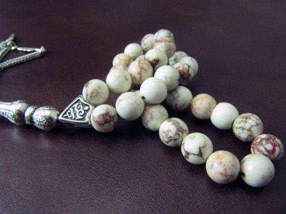 EXPRESS SHIPPING Turkish Islamic 33 Prayer Beads by GreenPalace