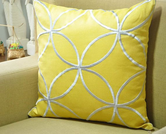 Cathedral Pillow Cover, Decorative Pillow, Throw Pillow, Geometric Pillow,  Silver Cathedral,
