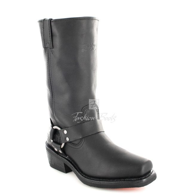 Fashion Boots - Harley Davidson D85354 HUSTIN Damen Bikerstiefel - schwarz / black