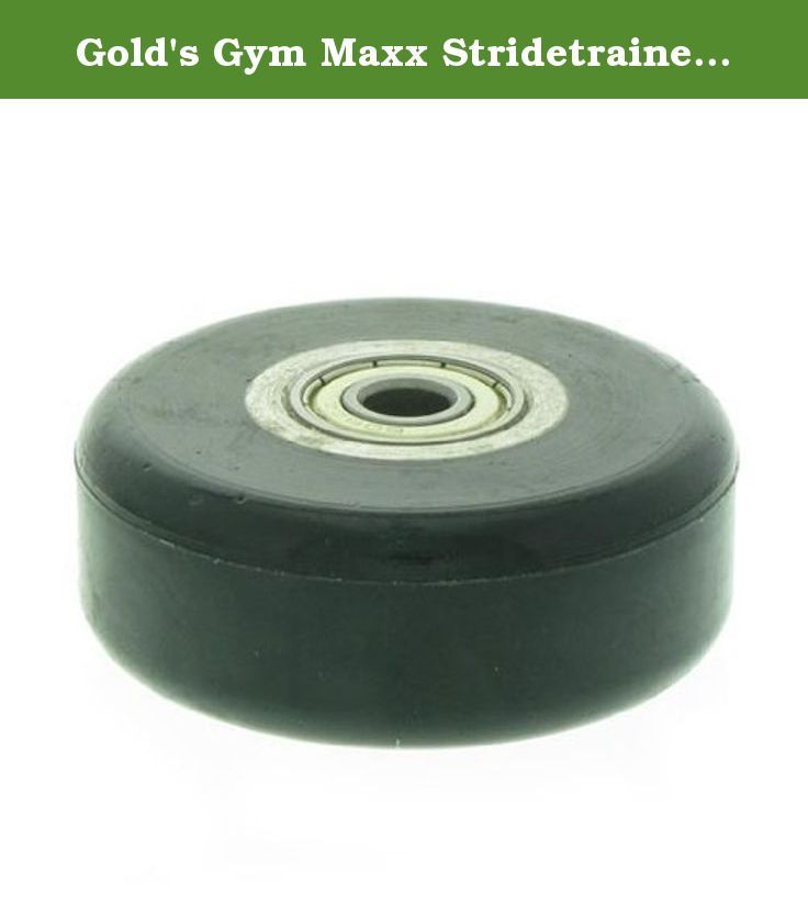 Gold's Gym Maxx Stridetrainer 880 Elliptical Ramp Wheel. This is the Replacement Ramp Wheel For The Gold's Gym Maxx Stridetrainer 880 For Model Number GGEL681080.