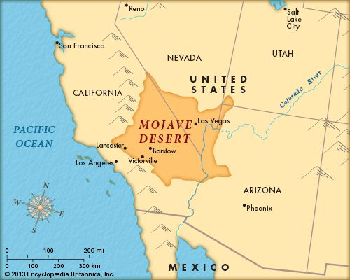 Mojave Desert in California | Mojave Desert -- Kids Encyclopedia | Children's Homework Help | Kids ...