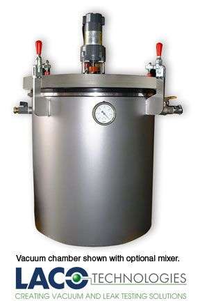 how to make a degassing chamber