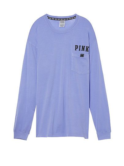 Long Sleeve Campus Tee PINK
