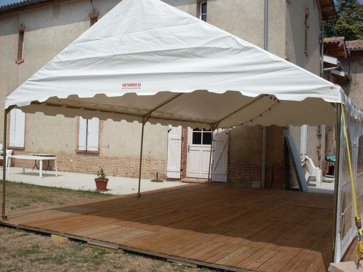 Location chapiteau Montauban - LOC SERVICE 82 : location chapiteau mariage, Toulouse, Albi, Agen, location tables et chaises, location tonnelle, tente de reception
