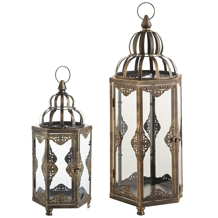 Black Sahara Lanterns